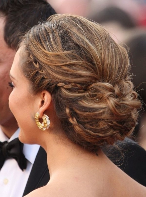 Jessica Alba Medium Length Updo   Tania Maras | Bespoke Wedding In Luxury Wedding Updos For Medium Length Hair Kls7