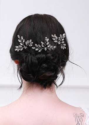 Kercisbeauty Wedding Bobby Pins Wedding Hair Pins Wedding Hairpiece Inside Hair Pins For Wedding