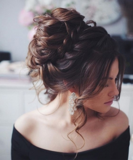 Messy Updo Wedding Hairstyles To Look Beautiful On Your Big Day Throughout Big Wedding Hair