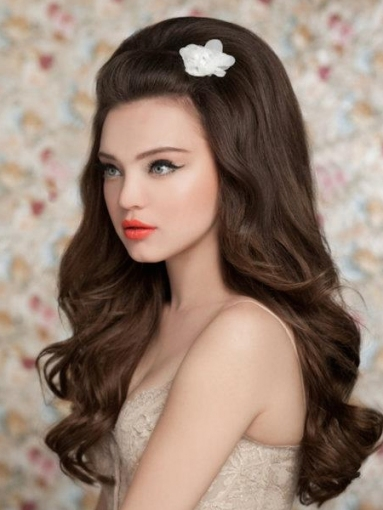 Pictures : Wedding Hairstyles For Long Hair   Big Bridal Hairstyle With Big Wedding Hair