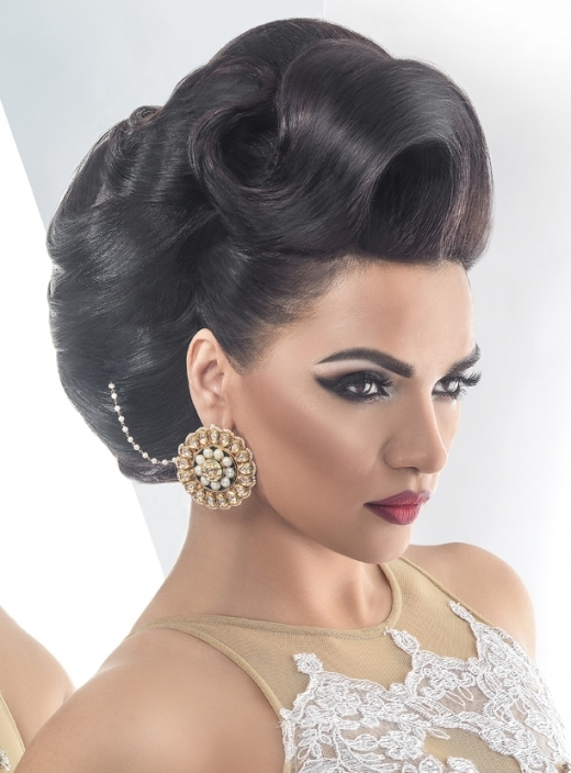 Saira Rahman :: Khush Mag   Asian Wedding Magazine For Every Bride Pertaining To New Big Wedding Hair Sf8