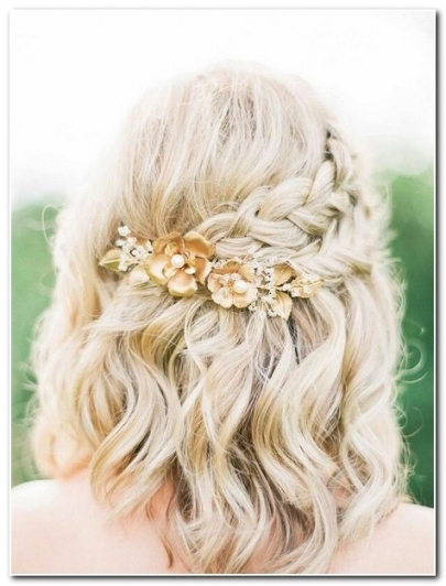 Summer Wedding Hairstyles For Medium Hair   Wedding Hairstyles In Wedding Hairstyles For Medium Hair