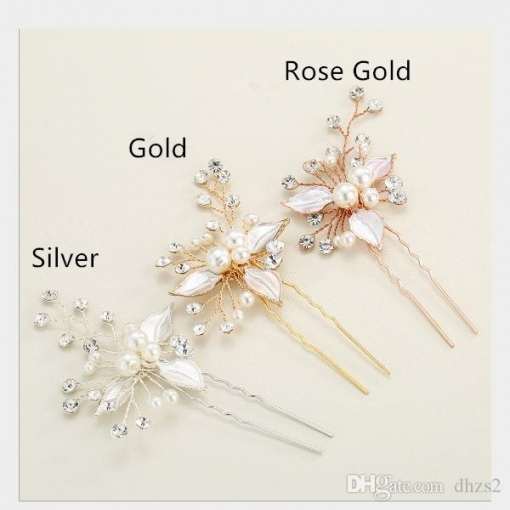 T 34 Wholesale Popular Hair Accessories Wedding Hair Pins Clip For Throughout Hair Pins For Wedding