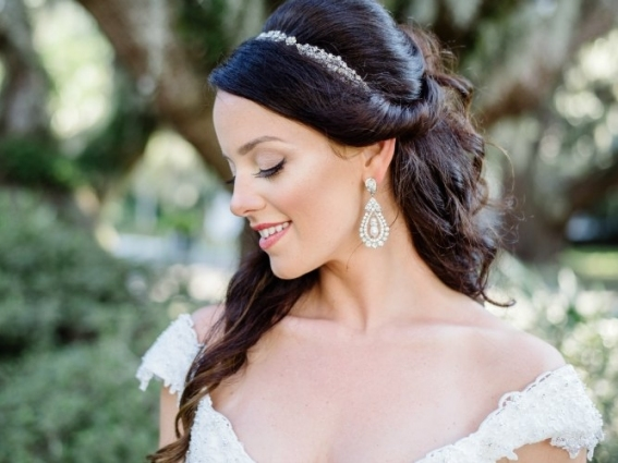 Tara's Wedding Day | Emma Collins Beauty: Savannah Wedding Hair And In Wedding Hair And Makeup Atlanta