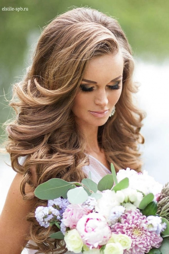 Trubridal Wedding Blog | 36 Stunning Summer Wedding Hairstyles intended for New Big Wedding Hair sf8