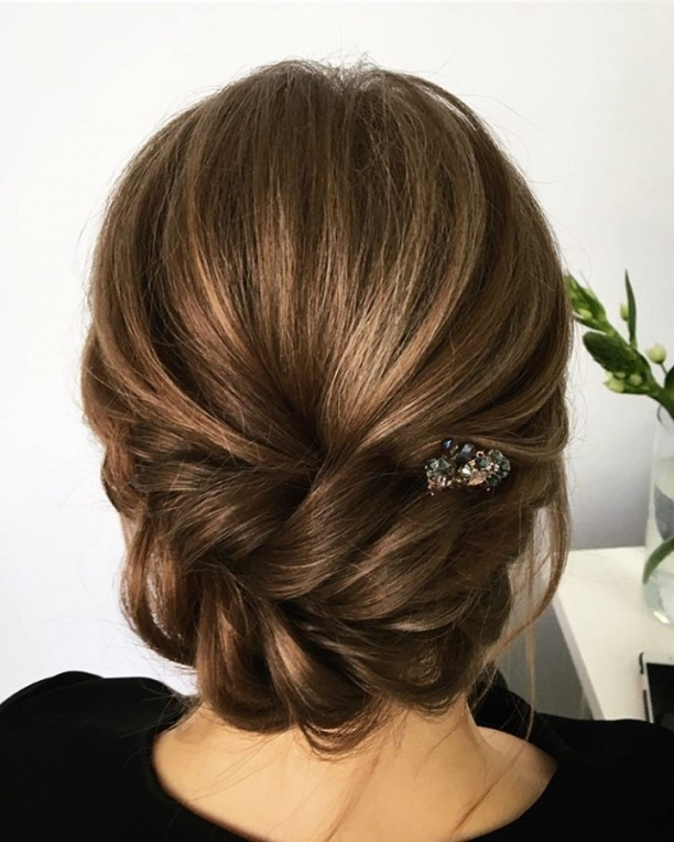 Unique Wedding Hair Ideas You'll Want To Steal | Wedding Updos Intended For New Hair Ideas For A Wedding Kls7