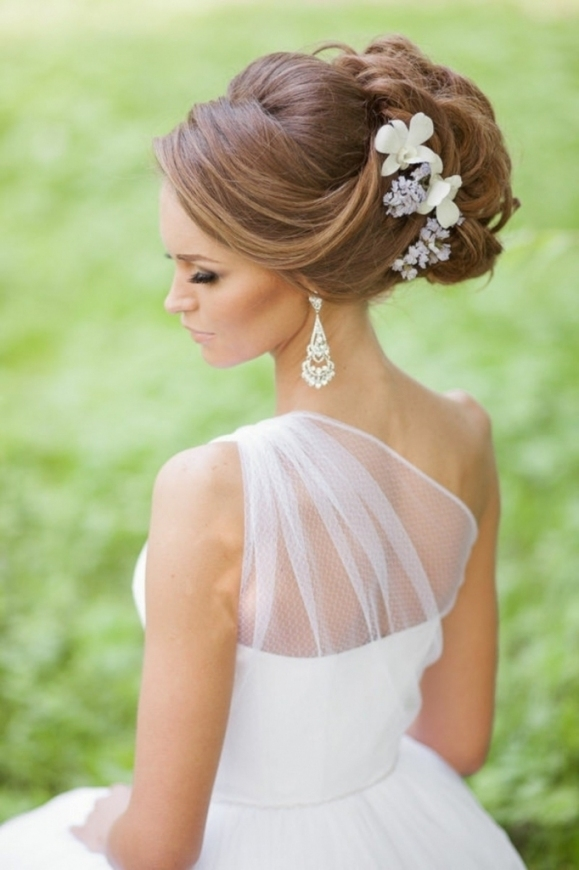 Updo Wedding Hairstyle 11 Awesome Updo Wedding Hairstyles For Your With Regard To New Big Wedding Hair Sf8