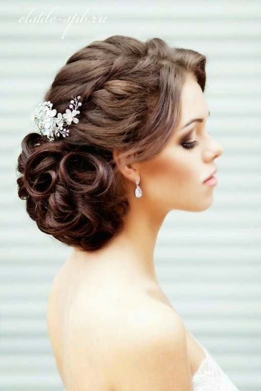 Wedding Accessories Hairstyles For Long Hair Wedding Side Hairstyles throughout New Big Wedding Hair sf8