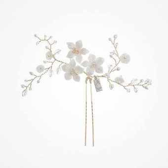 Wedding Hair Clips | Bridal Hair Pins | Liberty In Love Within Hair Pins For Wedding