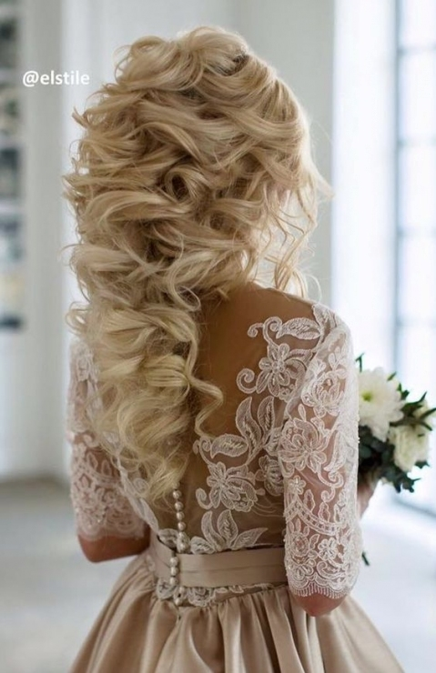 Wedding Hairstyle Inspiration   Modwedding In Big Wedding Hair