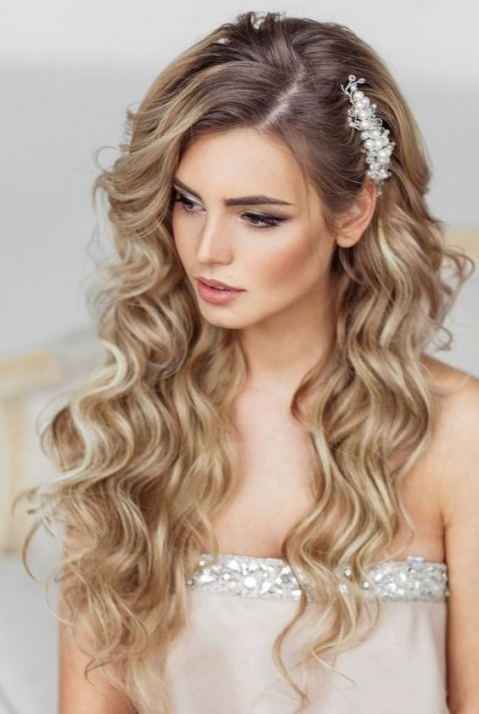 Wedding Hairstyles For Long Hair (21)   Glamorous Hairstyles Inside Hair Styles Wedding