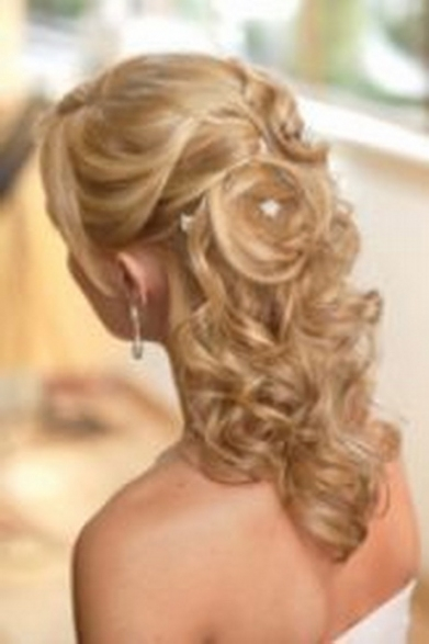 Elegant Hairstyles For Weddings For Medium Length Hair ty4
