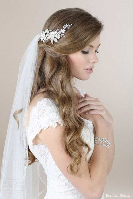 New Wedding Headpieces For Long Hair ty4